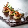 Norwegian Salmon Gravlax with Blinis