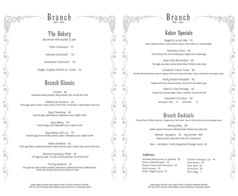 Book Kebun for an Event | Kebun Bistro
